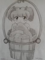 girl in a bucket by Yosumi-Chan