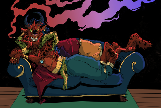 Lounge Demon by littleMURE