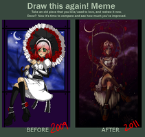 Draw this again MEME by Miha-Hime