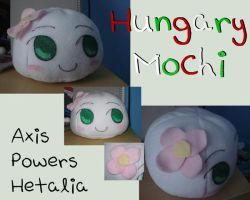 APH- Hungary Mochi Plush by rosey-so-silly