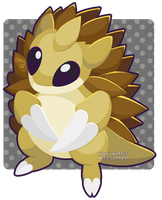 028 Sandslash by Miss-Glitter