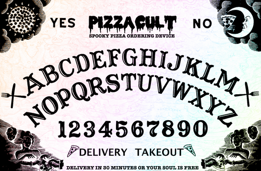 Pizzacult Ouija by grazcore