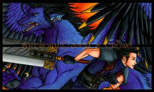 Zack And Drae Bookmark Set by psycrowe