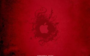 Apple Red Wallpaper by Angelmaker666