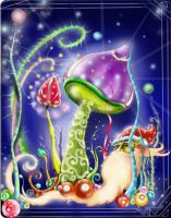 Magic mushrooms by AndonnastY
