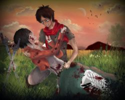 [Mikasa x Eren] Back to the right owner... by xXMarilliaXx