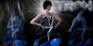 TRON Party Dress by MalakisMarvels