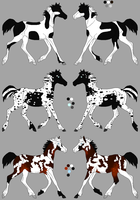 Forest Wanderer Draft Adopts 2 by JourneytoRevenge