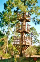 Our Treehouse Built by My Husband {Photo 11} by Empress-XZarrethTKon