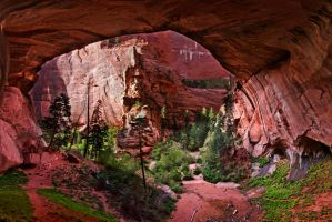 Double Arch Alcove by IsACoolGuy