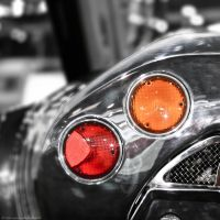Some Color Included - Spyker C8 Tail Light by KvornanTheLafesta