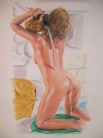 Nude with water jug by jason-legon