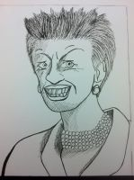 Clover Moore - Lord Mayor of Sydney by ShadnicFusion