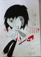 Jeff The Killer by Caremelblue