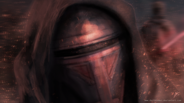 Darth Revan by DarthTemoc