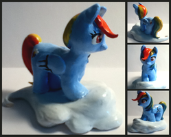 Custom Rainbow Dash Figure by Musapan