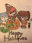 Happy Halloween Witches!! by Kitte-chan