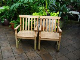 Pair of Chairs by wafreeSTOCK