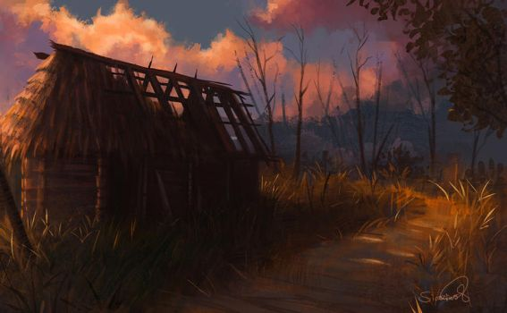 Abandoned Hut by Sicarius8