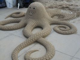 Sand Octopus by Envy124