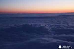far above the clouds by Kinderwald