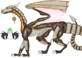 Drave Armored up by DraveDragonheart