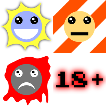 Content Rating Icons for TheUnproPro by Greywander87