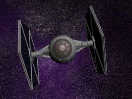 Imperial TIE Fighter by AcolyteVersion1