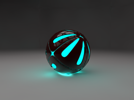 Glowing Ball of AWESOME by Marksmansam