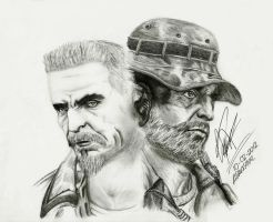 Reznov and  Price COD by Adavis9012