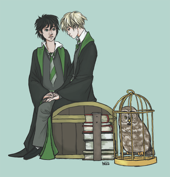 Albus and Scorpius by Heralia