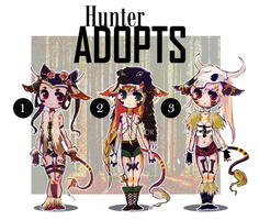 Hunter Adopts by Avvyraptor