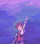 KH: Look! by saltycatfish