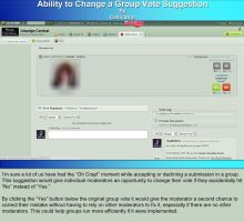 Change A Group Vote Visual Suggestion by CelticStrm