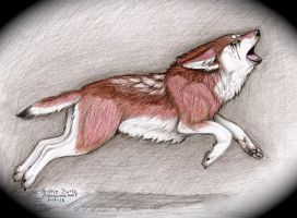 X...Red Wolf's Howl...X by NatsumeWolf