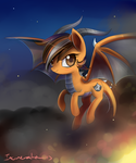 Dragon pony by Incinerater