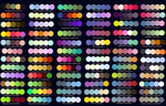 Colour Palettes no.2 by Striped-Tie