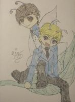 Cute Ouran Fairies by caged-birds