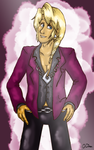Klavier being Klavier by CharlieIsAMystery