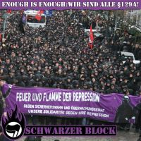 Antirepression Demo in Hamburg by Anarchist-outcontrol