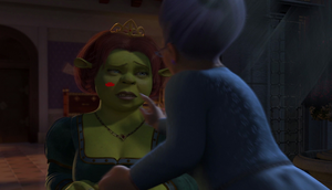 Fiona Kissed by EarWaxKid