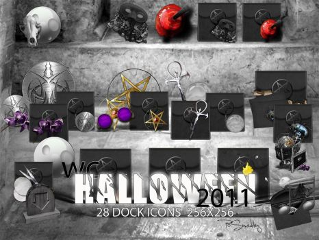 WC Halloween Dock Icons by PoSmedley