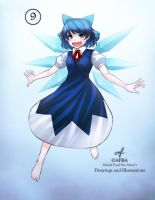 Cirno DAY by AFBA