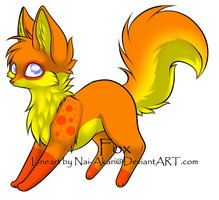 Orange Fox Adopt .:CLOSED:. by KiraNeko813
