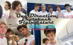 One Direction Photopack,Flying Start by TodoBlends
