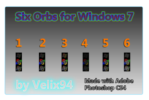 Six Orb for Windows 7 by Velix94