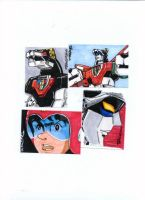 Voltron Sketch Card Submissions by KEVGEAR