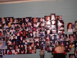 100 mj pics on my wall by filmcity
