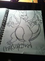 Charizard by MissWickedCreationz