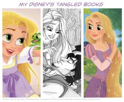 My Disney's Tangled Books by princekido